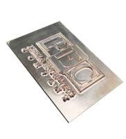 I4-magnesium-letterpress-die