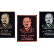 B1 Etched Plaques