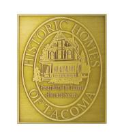 B6 Antiqued Brass Plaque