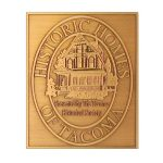 B9 Antiqued Copper Plaque