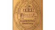 B9 Antiqued Copper Plaque