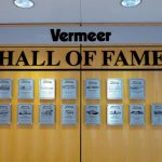 F4 Recognition Wall with Etched Plaques
