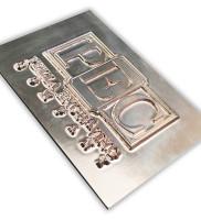 I3 Magnesium Letterpress Die