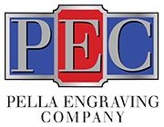Pella Engraving Company logo