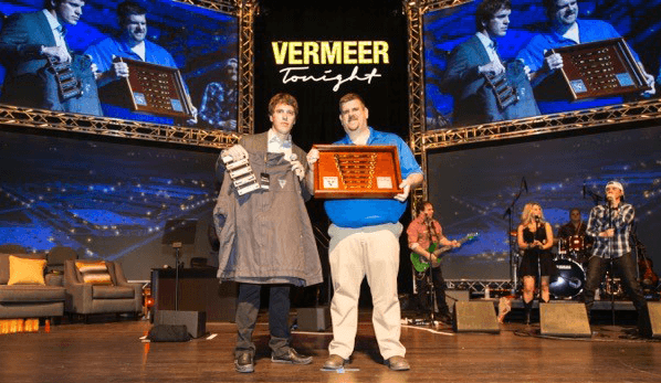 Vermeer master technician etched award