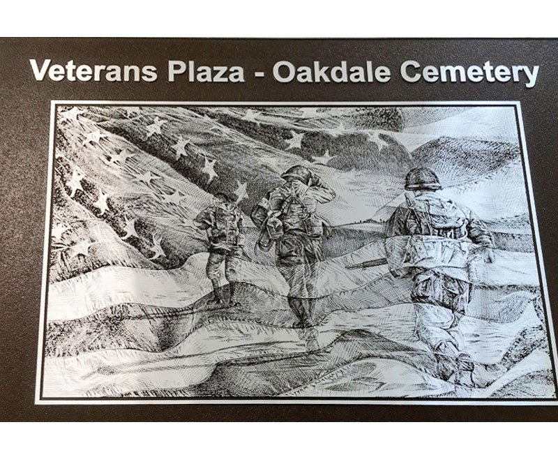 PEC works with Adel group on powerful Veterans Plaza monument