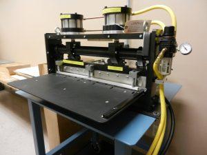 Metalphoto serial tag equipment