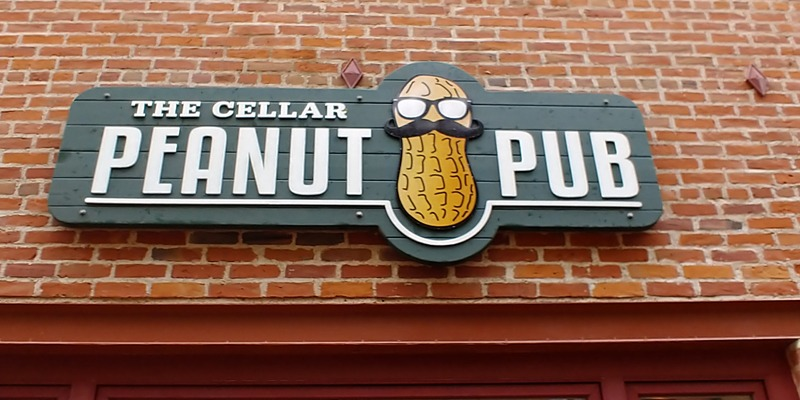 Peanut Pub is nuts about new signage