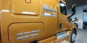Wehrle, Inc., semi-cab wrap