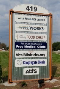 The-Well-Freestanding-Sign