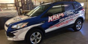 Kraig Ford full vehicle wrap