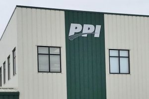 PPI wall-mounted sign