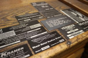 Metalphoto nameplates, serial tags, ID tags, and asset tags