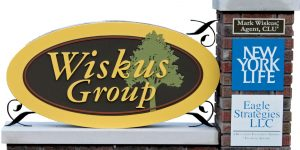 Wiskus Group freestanding sign