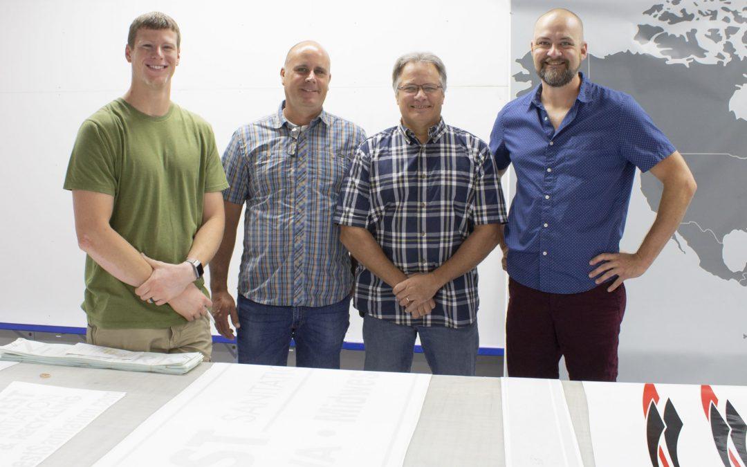 New signage division gains momentum at PEC