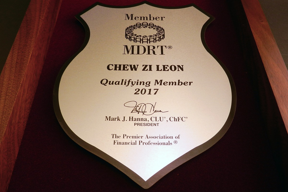 Shield-shaped MDRT Metalphoto plaque