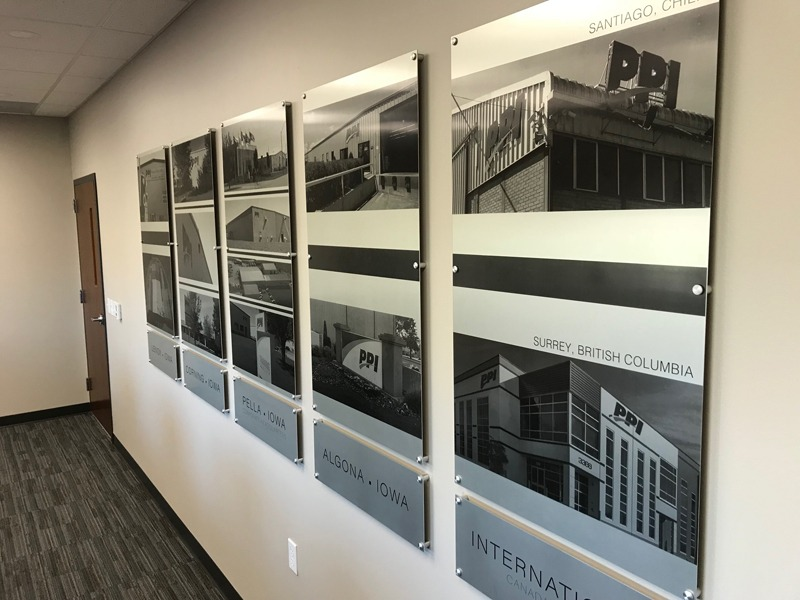 Wall of PPI locations